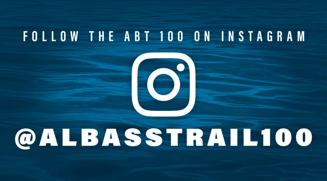 Follow the ABT 100 on Instagram at albasstrail100